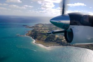 Skybus over St Mary's Scilly