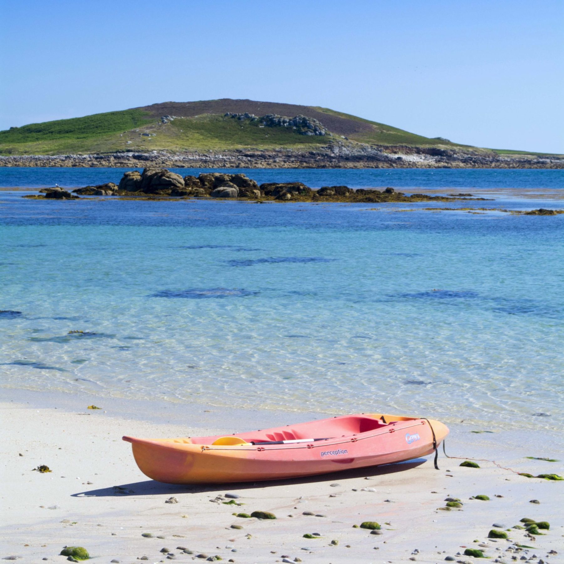 Kayak on Bryher