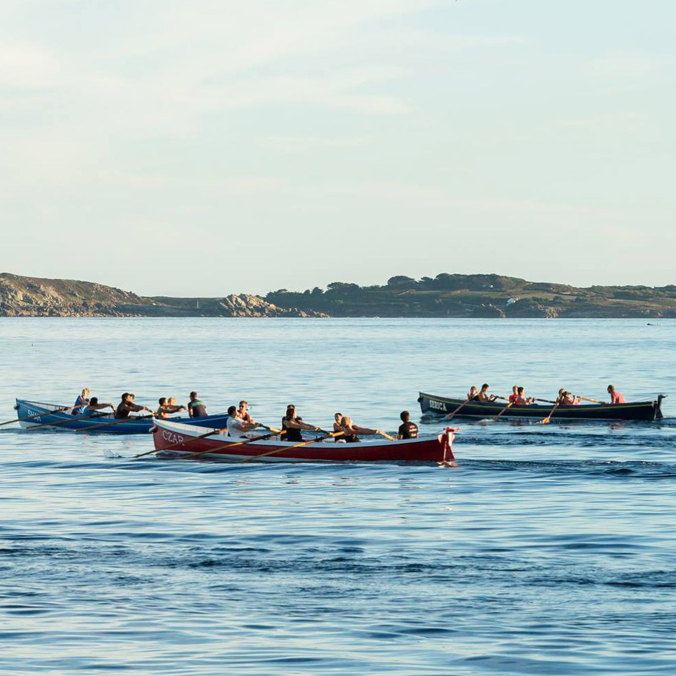 Scilly Gig Rowing