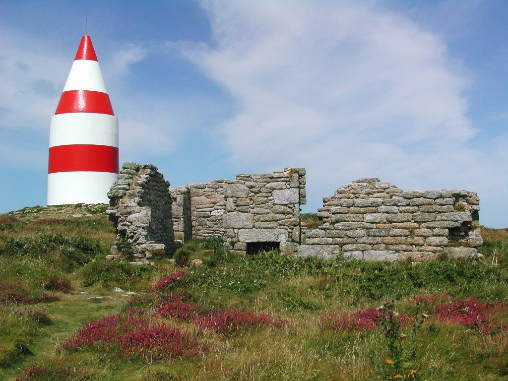 The Daymark on St Martin's Isles of Scilly