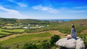 Bryher Campsite Isles of Scilly