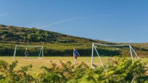 Games Field on Bryher Campsite